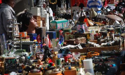 Der Garagenflohmarkt öffnet wieder