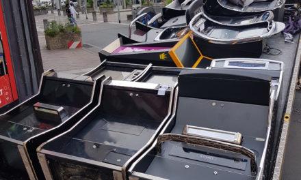Illegale Spielautomaten sichergestellt