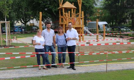 Neues Kita-Außengelände am Ehlenberg ist ein Schmuckstück