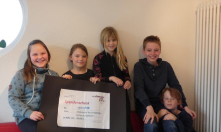 Kinderbeirat spendet an UNICEF