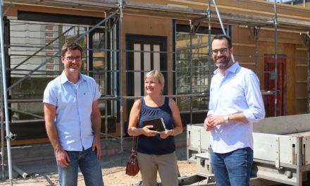 Nachhaltiger Kita-Neubau am Weinfaß im Zeitplan