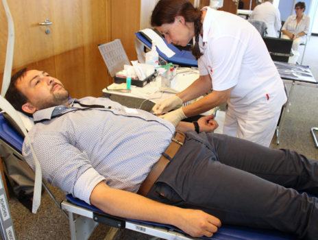 Blutspende im Landratsamt am 10. Juli