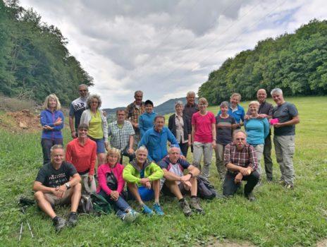 Sektionswanderung des DAV in den Odenwald