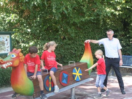 Die Wikinger leben wieder auf im Freizeitpark: