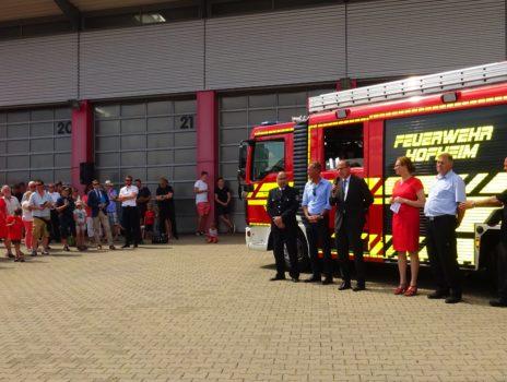 Neues LF 20: Für Hofheims Feuerwehr erstmals kompakt gebaut