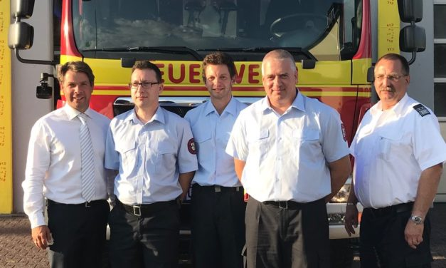 Führungswechsel bei der Feuerwehr Gustavsburg