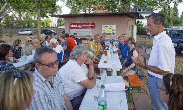 Fest für die Helferinnen und Helfer des Mainuferlaufs