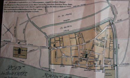 Stadtmauern und Tore dokumentieren die wechselvolle Kasteler Geschichte