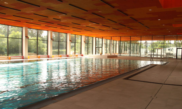 Lachebad: Neue Schwimmhalle ab 4. September für Allgemeinheit geöffnet