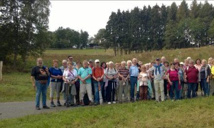 Die SG-Eintracht Rüsselsheim auf September-Wanderung