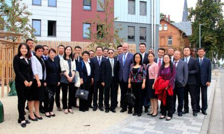 Chinesische Delegation zu Besuch in Flörsheim