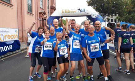 Mainzer Firmenlauf: Rathaus-Team mit starken Leistungen