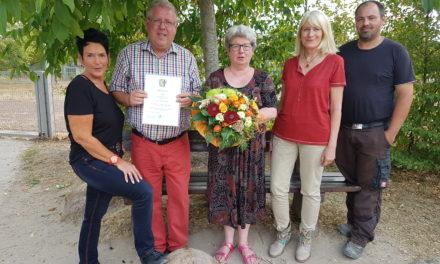 """<span class=""""entry-title-primary"""">Von Laubenheim über Bodenheim nach Dienheim</span> <span class=""""entry-subtitle"""">Kita Klawitterland – Martina Kopf feiert 40 jähriges Dienstjubiläum</span>"""
