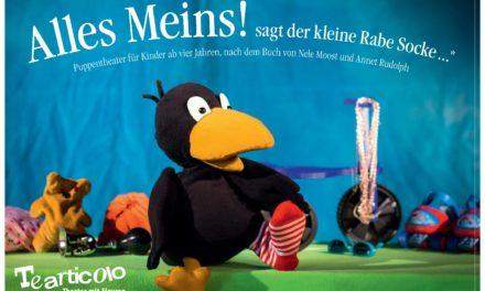 """<span class=""""entry-title-primary"""">""""ALLES MEINS""""</span> <span class=""""entry-subtitle"""">Der Rabe Socke kommt nach Nierstein - Puppentheater für Kinder ab vier Jahren, nach dem Buch von Nele Moost und Annet Rudolph</span>"""