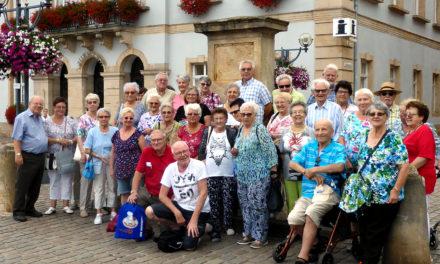 Siedler- Rentner, mit dem Aufzug in die Altstadt von Marburg