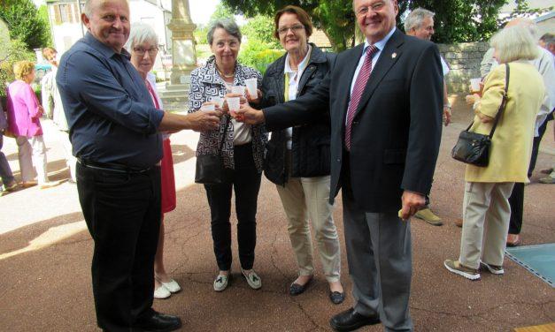 40 Jahre Partnerschaft zwischen Gau-Bischofsheim und Liernais/Burgund