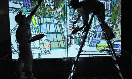 Schauspiel für Kinder – Der Maler Zinnober in der grauen Stadt