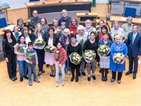 Integrationspreis 2017/18: Rüsselsheim vergibt Auszeichnung im Zeichen von Respekt und Toleranz