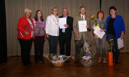 Der Gesangverein Germania feiert mit den Jubilaren