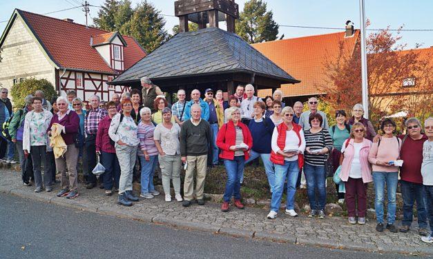 Eintracht Wandergruppe unterwegs im Soonwald
