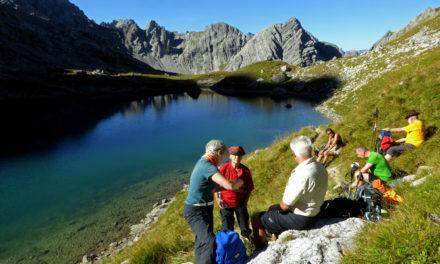 Hochgebirgswanderung durch die Lechtaler Alpen