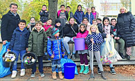 """Mitmachaktion: """"Müllsammeln mit dem Bürgermeister"""""""