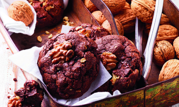 Weiche Schoko-Cookies