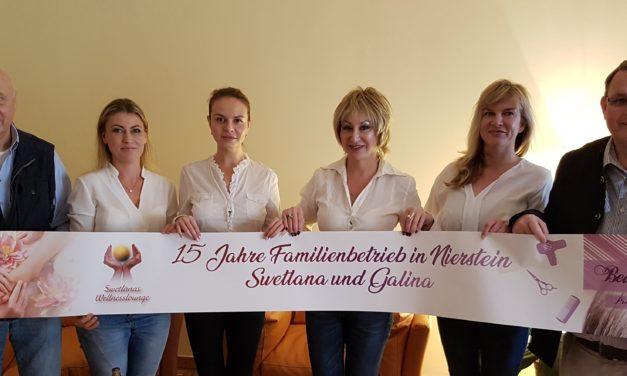 15 Jahre Swetlanas Wellnesslounge in Nierstein