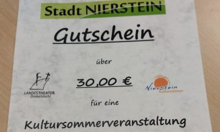 """<span class=""""entry-title-primary"""">Das Niersteiner Weihnachtsgeschenk</span> <span class=""""entry-subtitle"""">Gutscheine für die Kultursommerveranstaltungen der Stadt Nierstein für das Jahr 2019</span>"""
