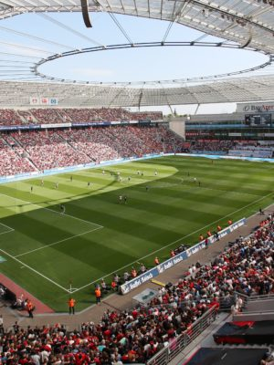 Bayer gegen Bayern – hautnah dabei!