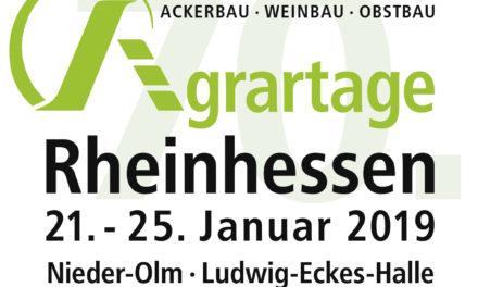 """<span class=""""entry-title-primary"""">""""Wissen – Technik – Kommunikation""""</span> <span class=""""entry-subtitle"""">Die 70. Agrartage Rheinhessen 2019 – ein Jubiläum</span>"""