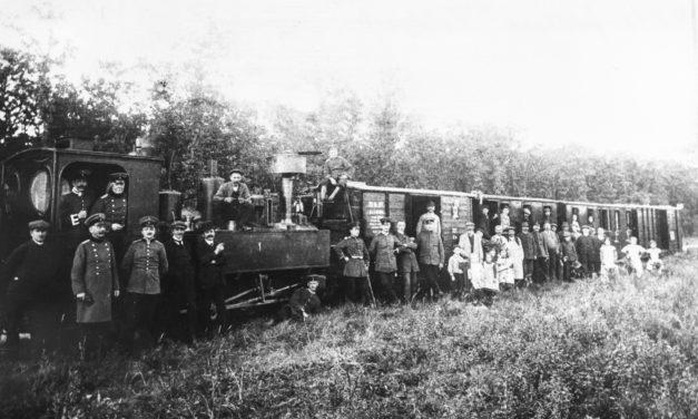 """<span class=""""entry-title-primary"""">""""Als die Festungsbahn durch die Ortsmitte fuhr – Hechtsheim im Ersten Weltkrieg""""</span> <span class=""""entry-subtitle"""">Die Militärbahn durch die Ortsmitte ins Kesseltal</span>"""