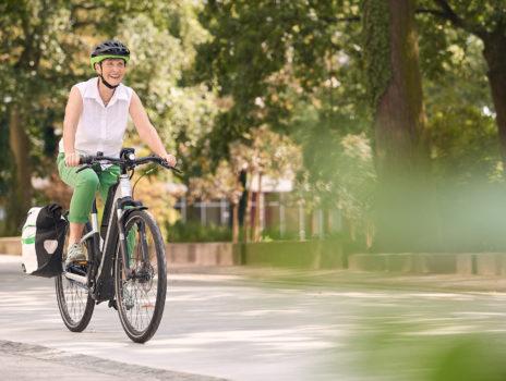 Vier Wochen gratis E-Bikes testen