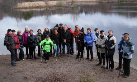Nordic Walking-Jahreseröffnungstour zu Odenwaldclub-Hütte