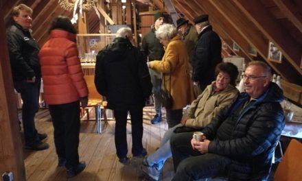 Jahresauftakt an der Schiffsmühle