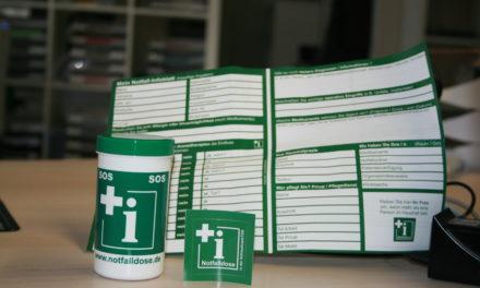 Notfalldosen ab sofort im Bürgerservice erhältlich