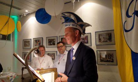 Oberbürgermeister zu Gast beim Neujahrsempfang des RCV