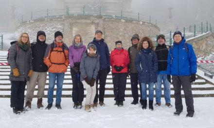 Mit der SKG Bauschheim rund ums Niederwald Denkmal