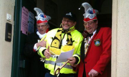 Rathausstürmung in Nierstein am 28. Februar 2018