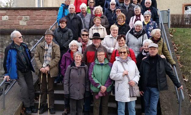 """TV Bischofsheim-Wanderer erklimmen das """"Gebirg"""""""