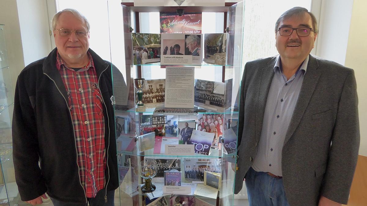 Fritz Berena (li.) und Dr. Markus Sobel (r), Vorstandsmitglied der SVL. Foto: Klaus Schmitt
