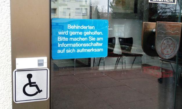 Neu: Klingel am Rathaus