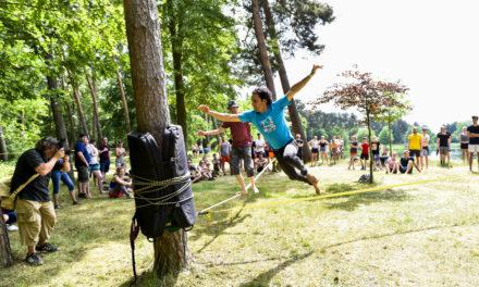 """<span class=""""entry-title-primary"""">11. Rhein-Main Slackline-Festival im Rüsselsheimer Waldschwimmbad</span> <span class=""""entry-subtitle"""">Spaß, Sport und gute Laune garantiert</span>"""