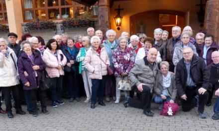 Der Rentner- Club der Siedler startete seine Jahresfahrten für das Jahr 2019