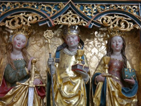 Der Wein und seine Heiligen