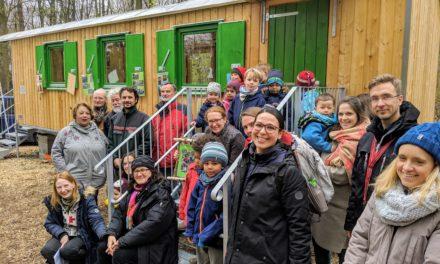 Neues Zuhause: Bauwagen für Waldgruppe der Kita Römerlager