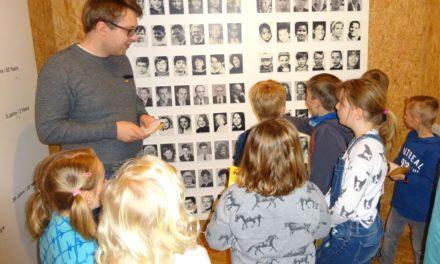 Kinder aus der Ferienbetreuung besuchten das Stadtmuseum