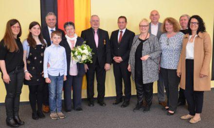 Verdienstmedaille des Landes Rheinland-Pfalz für Klaus Böhm