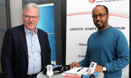 Energieberatung im neuen Rathaus