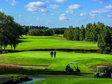Golfen, Wandern, Wellness